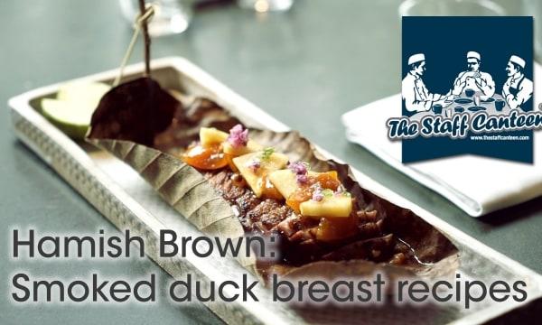 Wagyu tartar, sea bream and miso, smoked duck breast recipes from ROKA