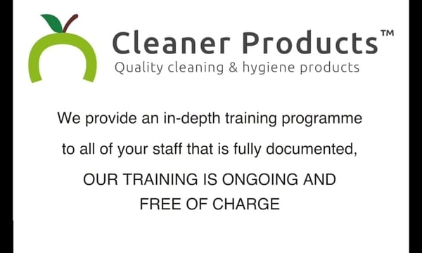 Our service - Cleaner Products.